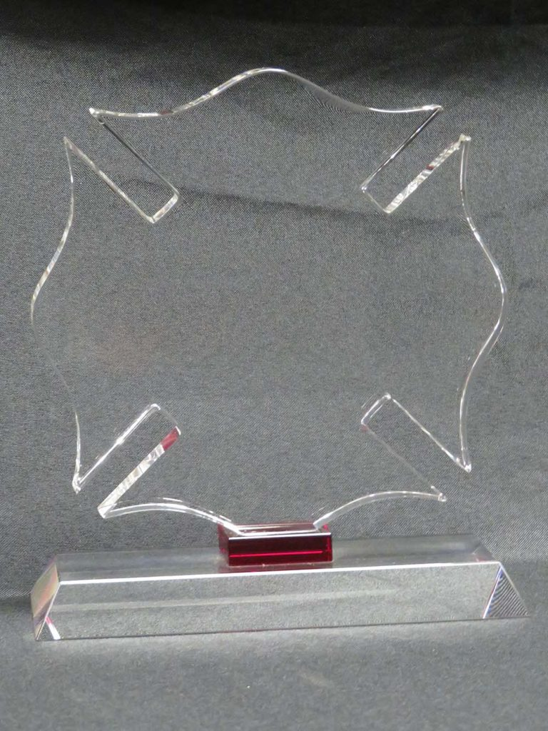 clear plaque