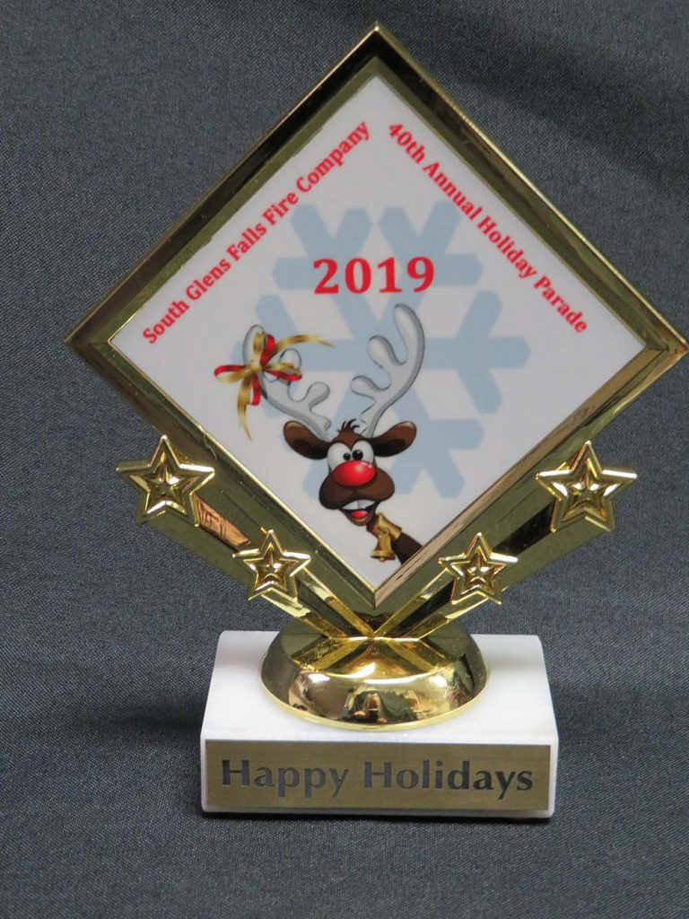 Happy Holiday Trophy