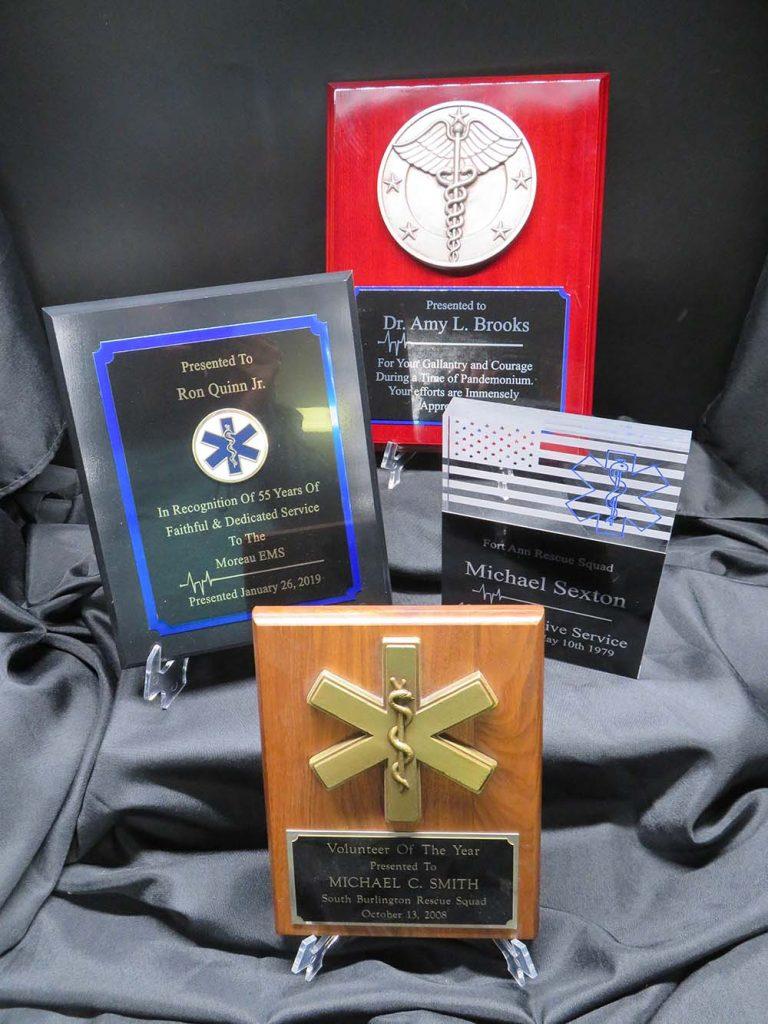 award wall plaque