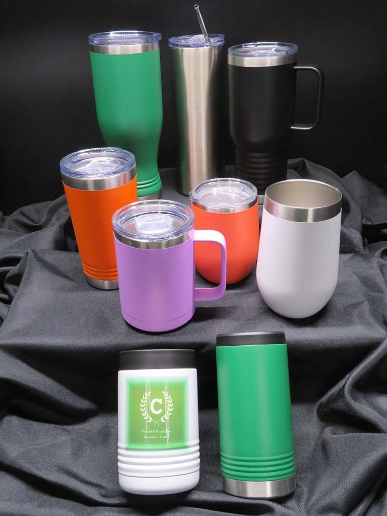 Metal Cups and mugs