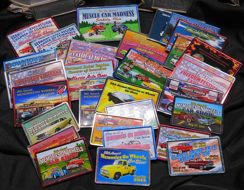 Car show Fridge Magnets