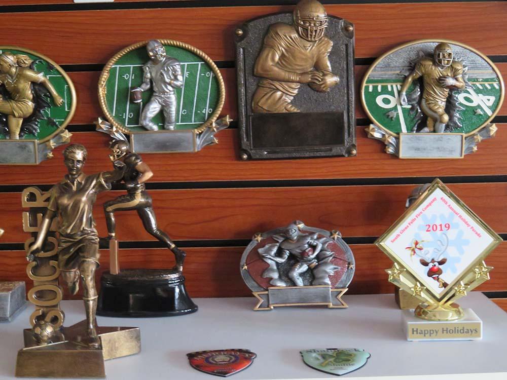 bronze sports trophies
