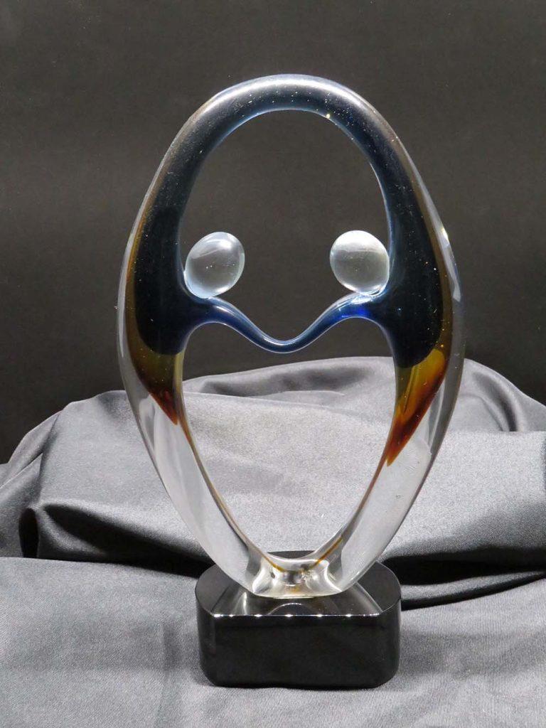 Blown glass award