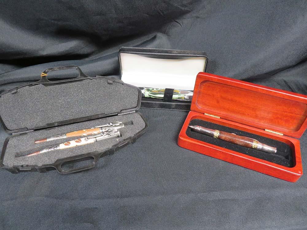 Pens in cases