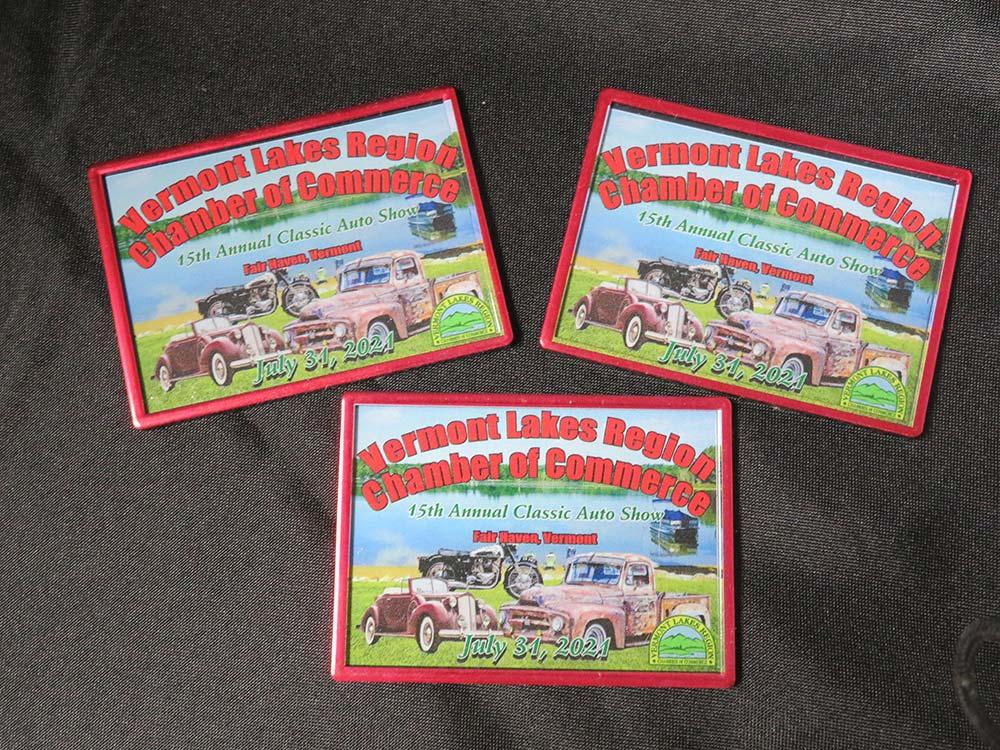 Auto show plaques