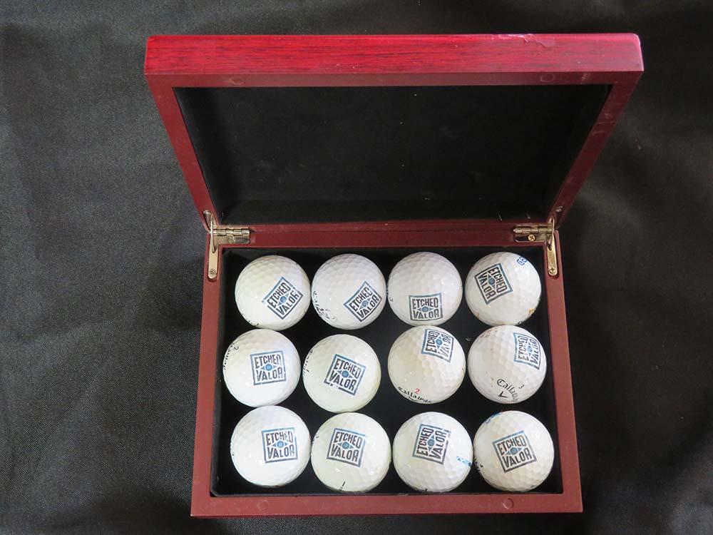 custom box of golf balls